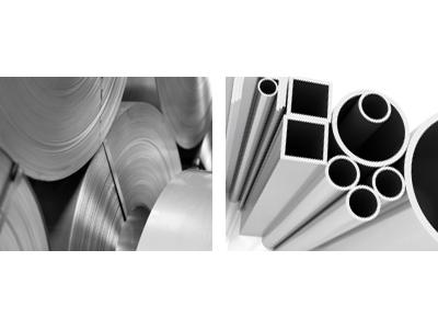 Aluminum Rolls and Tubes