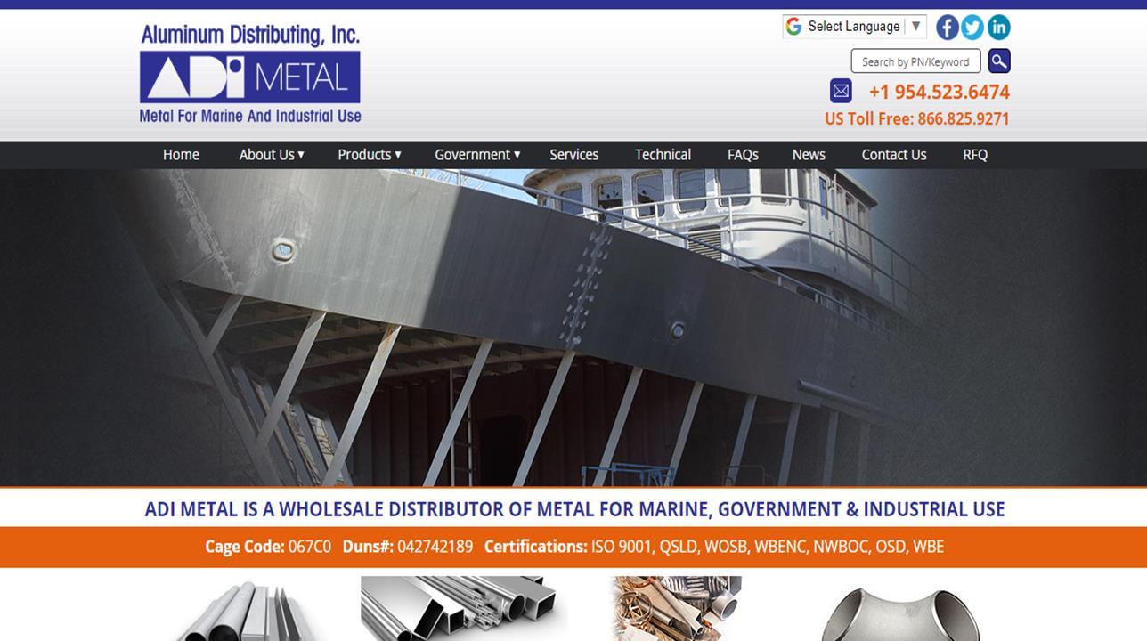 Aluminum Distributing, Inc.