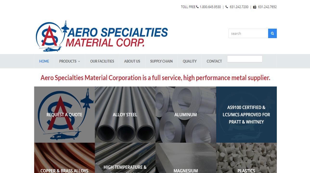 Aero Specialties Material Corp.