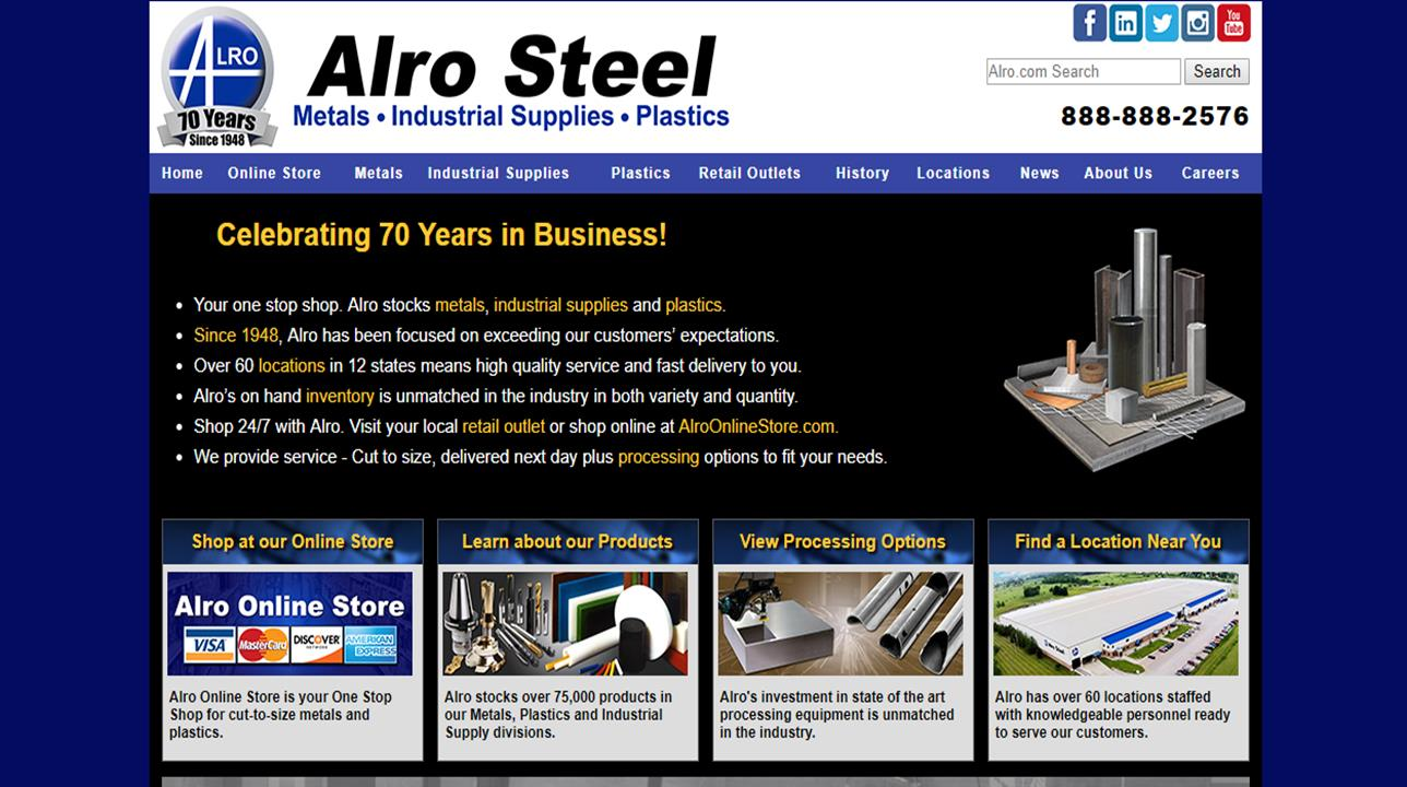 Alro Steel Corporation