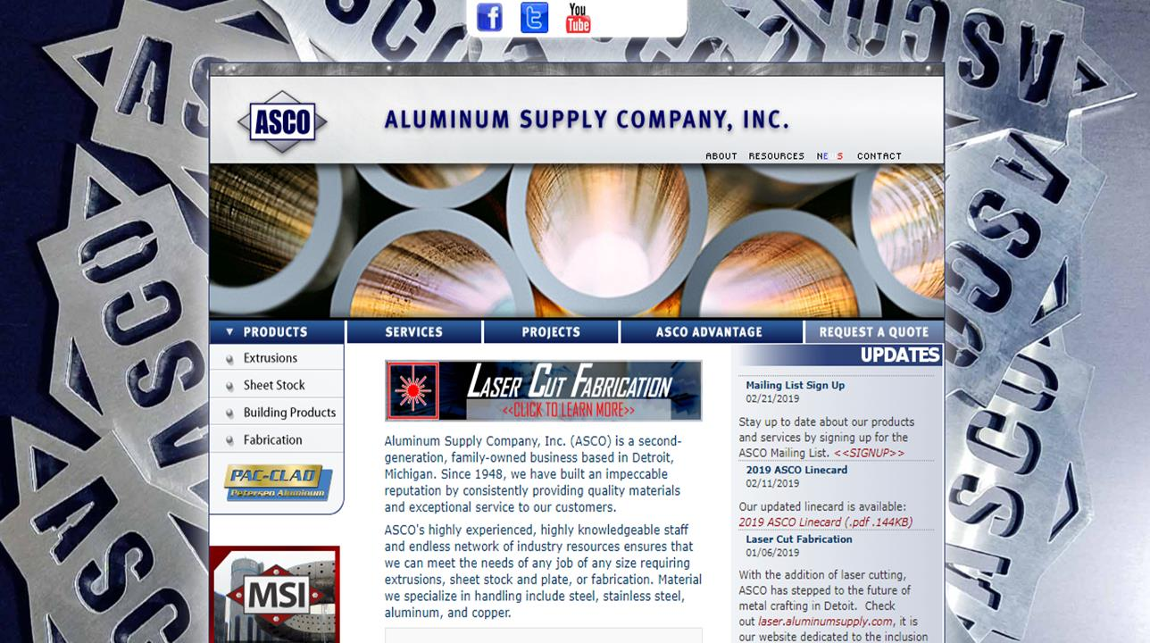 Aluminum Supply Company, Inc.