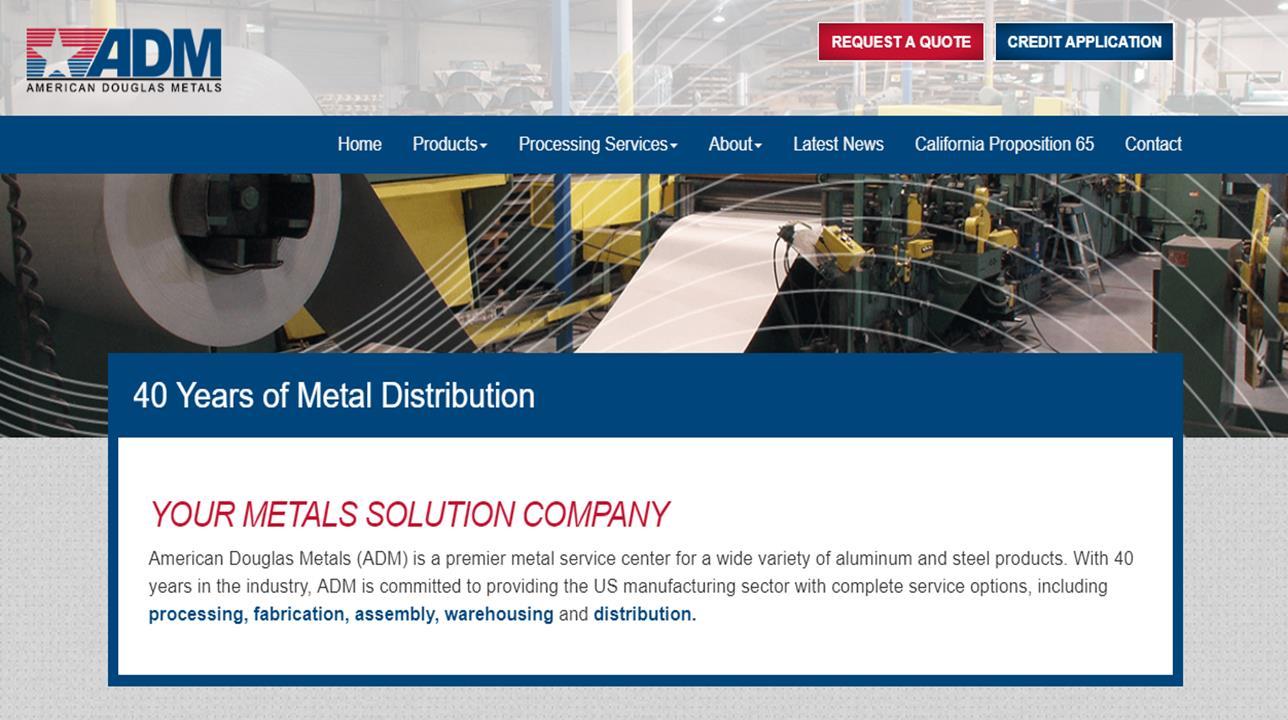 American Douglas Metals, Inc.