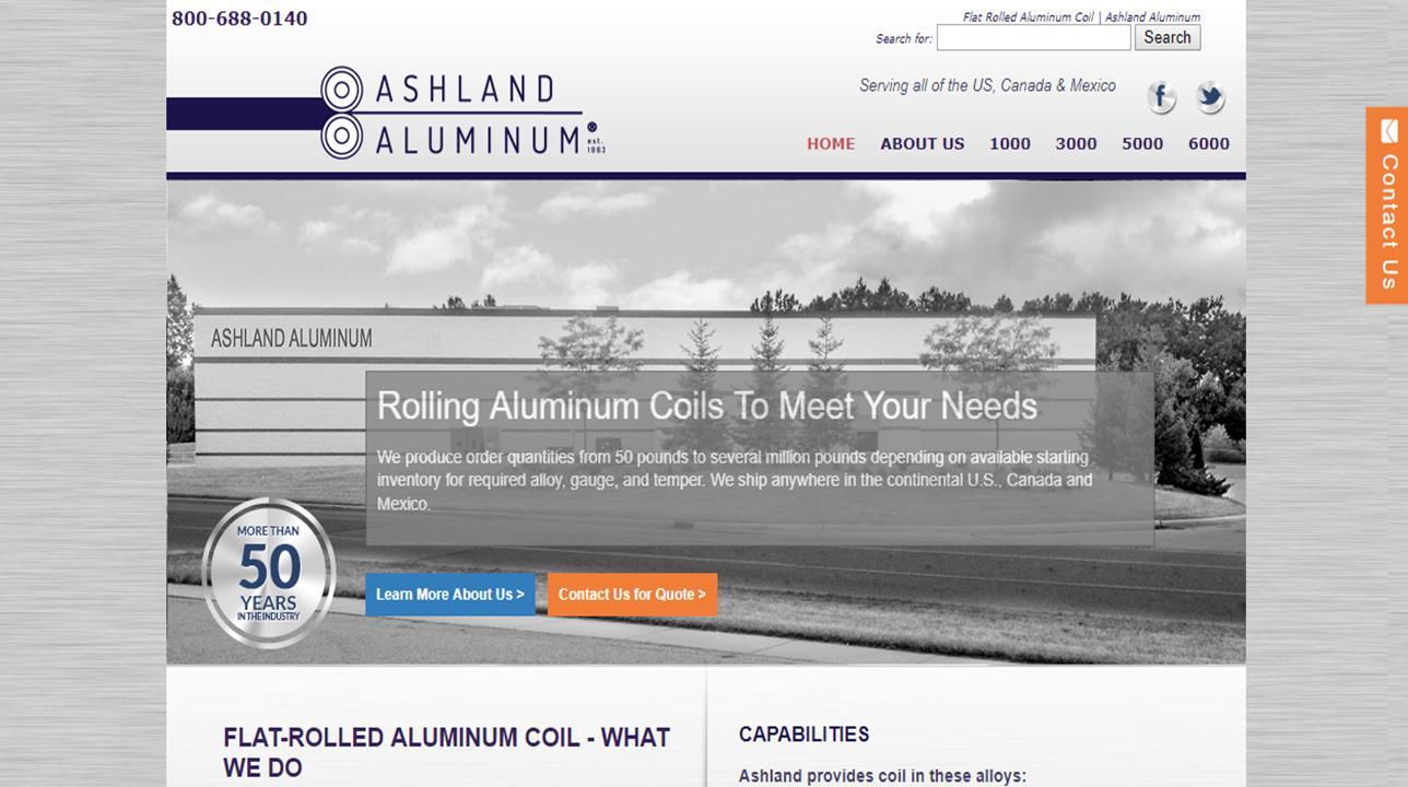 Ashland Aluminum Co. Inc.