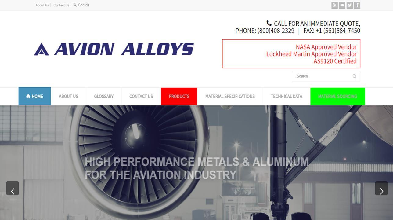Avion Alloys Inc.
