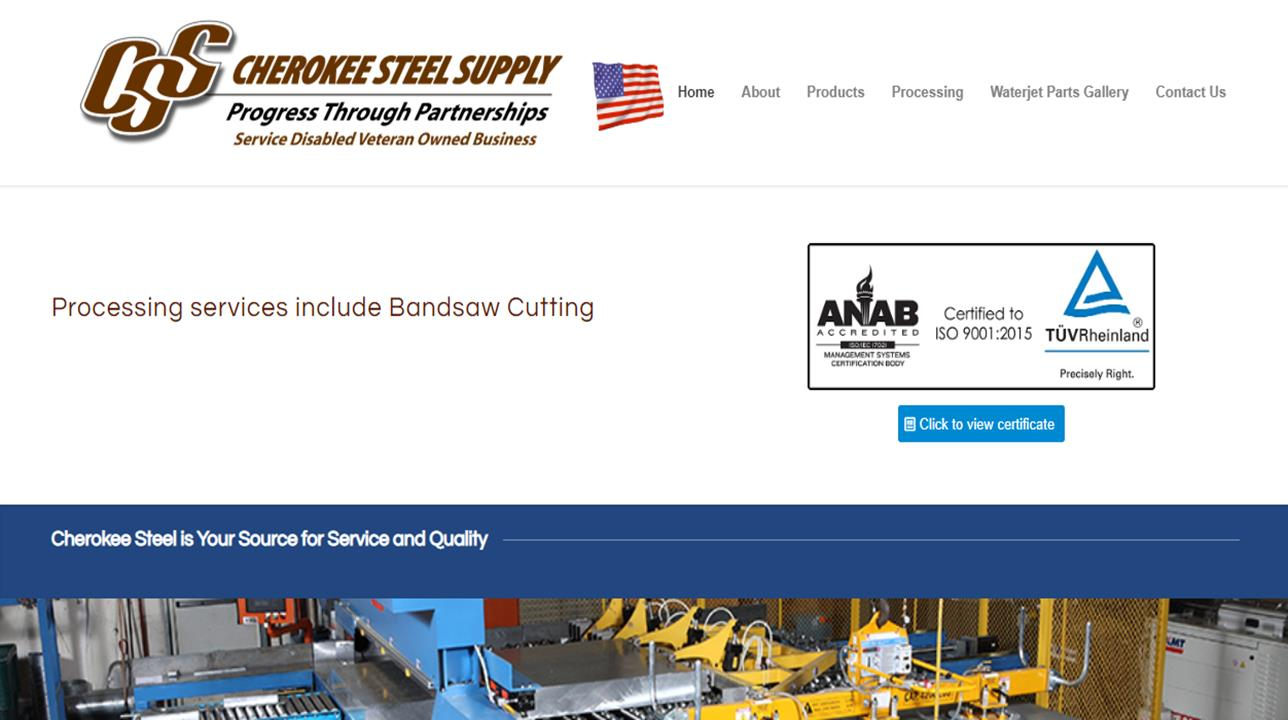 Cherokee Steel Supply