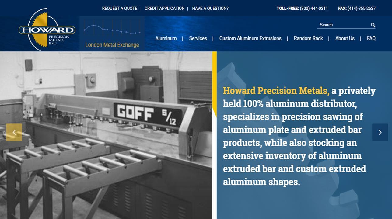 Howard Precision Metals Inc.