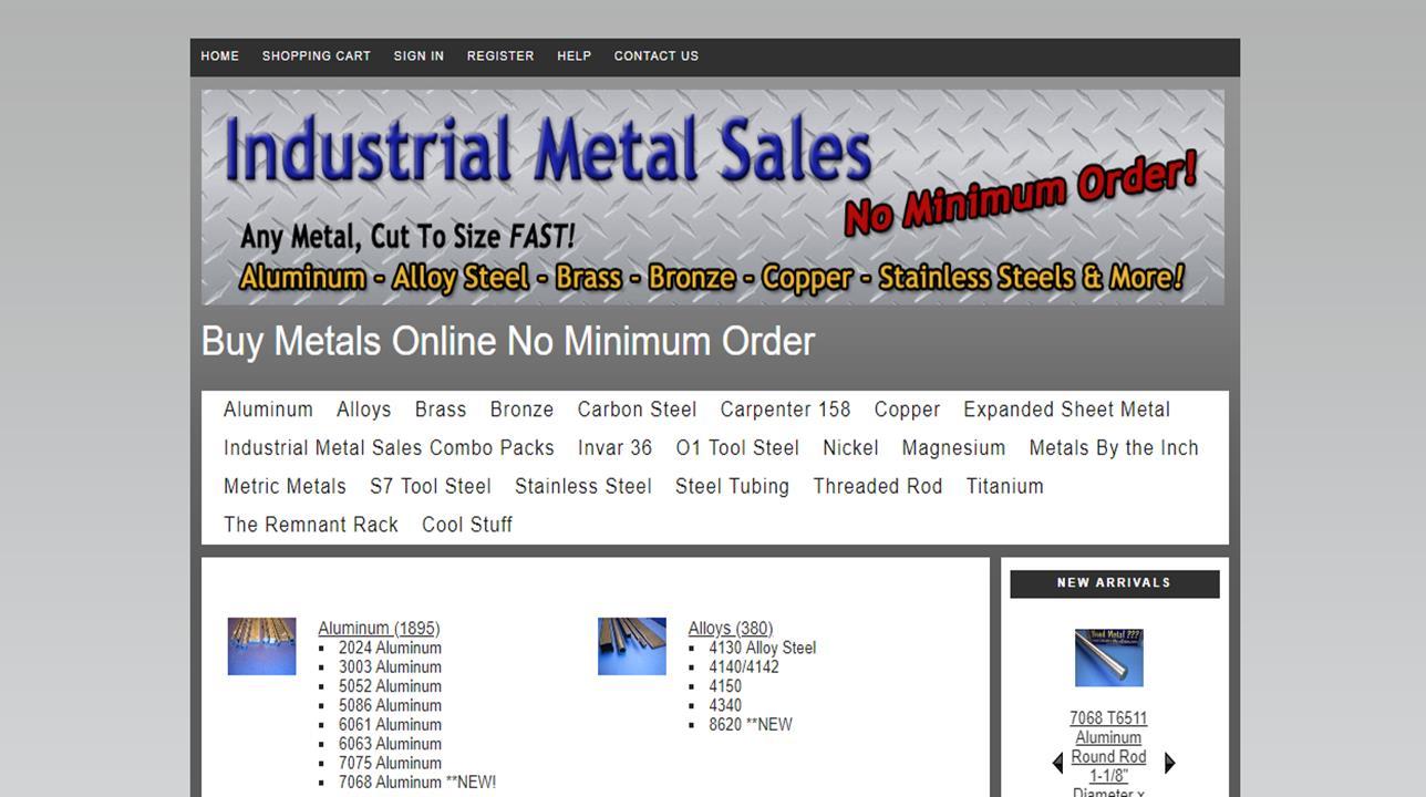Industrial Metal Sales