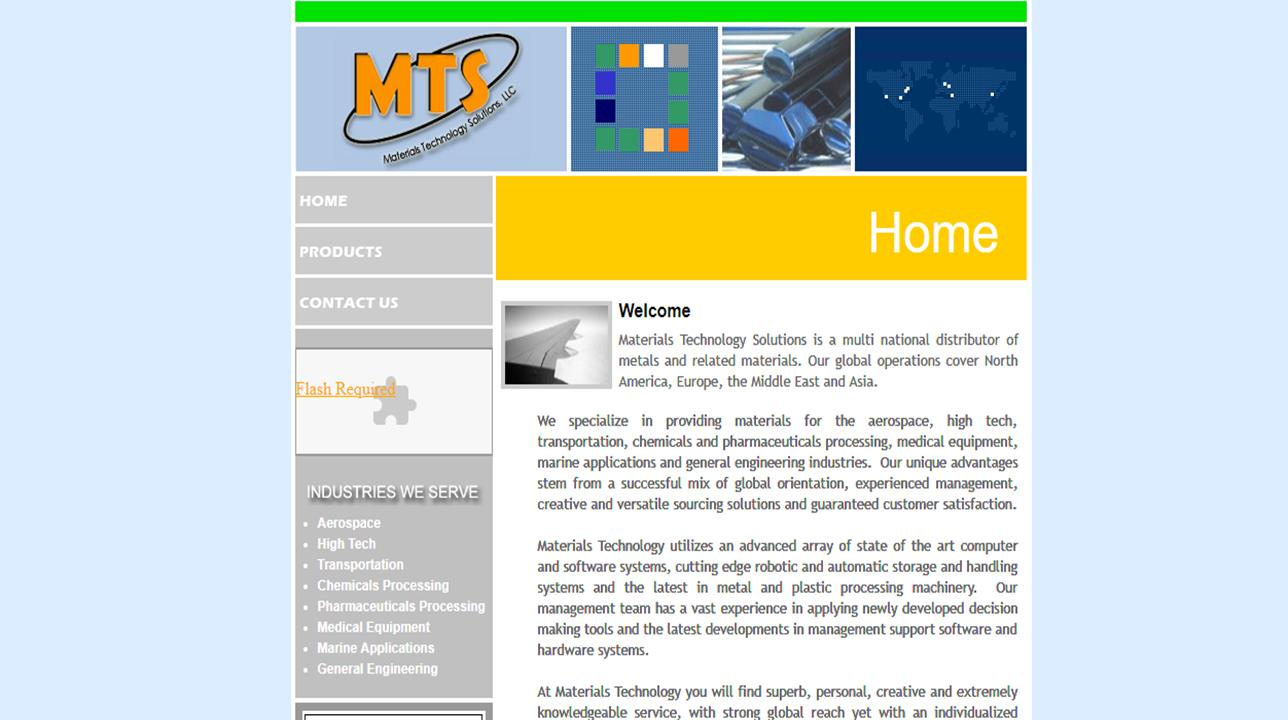 Materials Technology Solutions