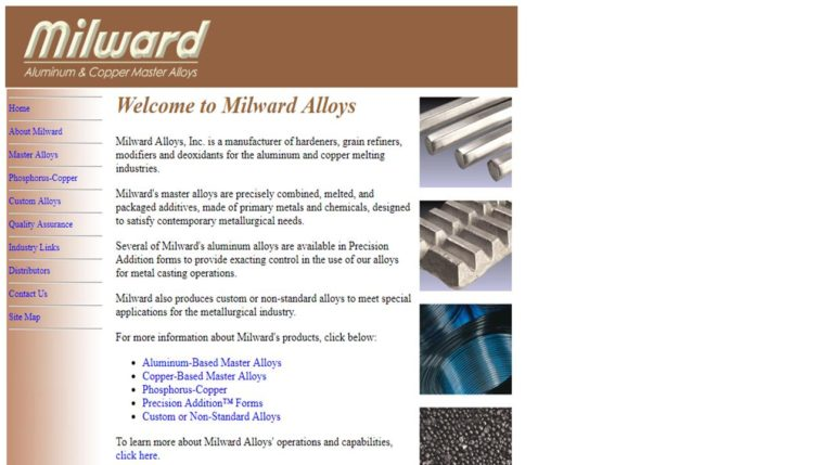 Milward Alloys, Inc.