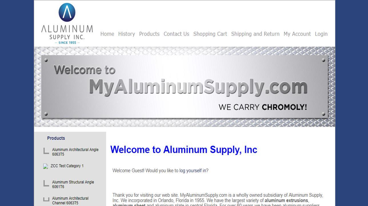 Aluminum Supply Inc.