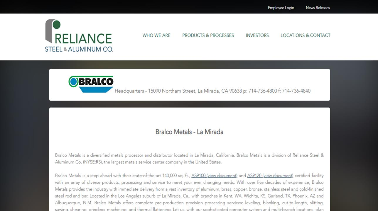 Bralco Metals, Inc.
