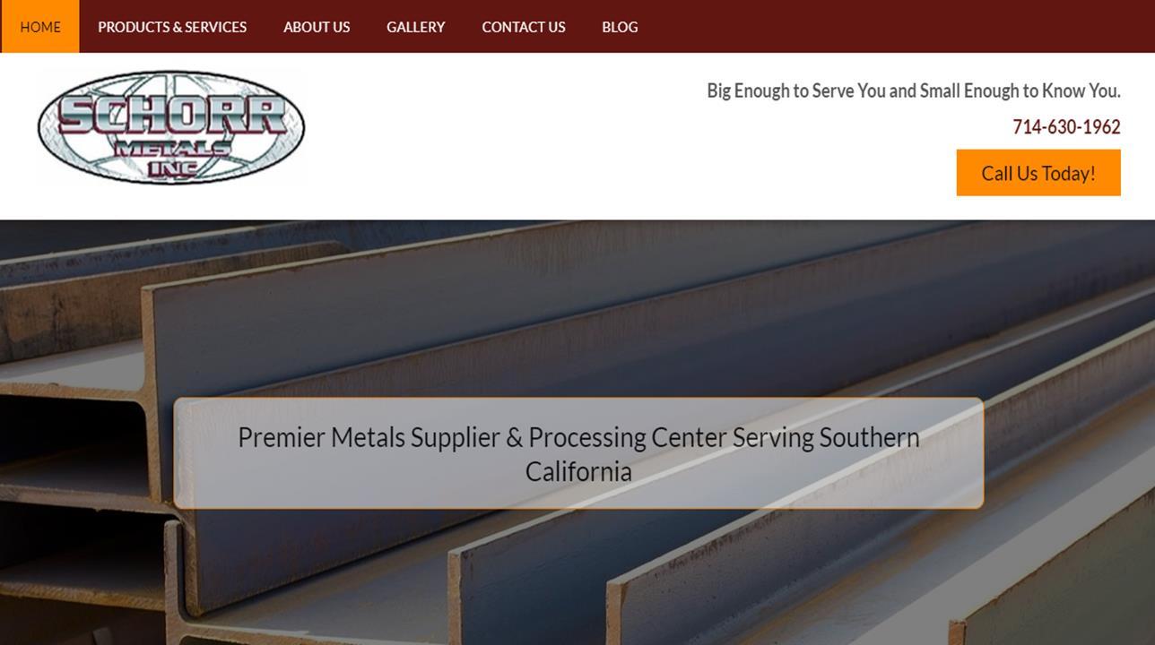 Schorr Metals, Inc.