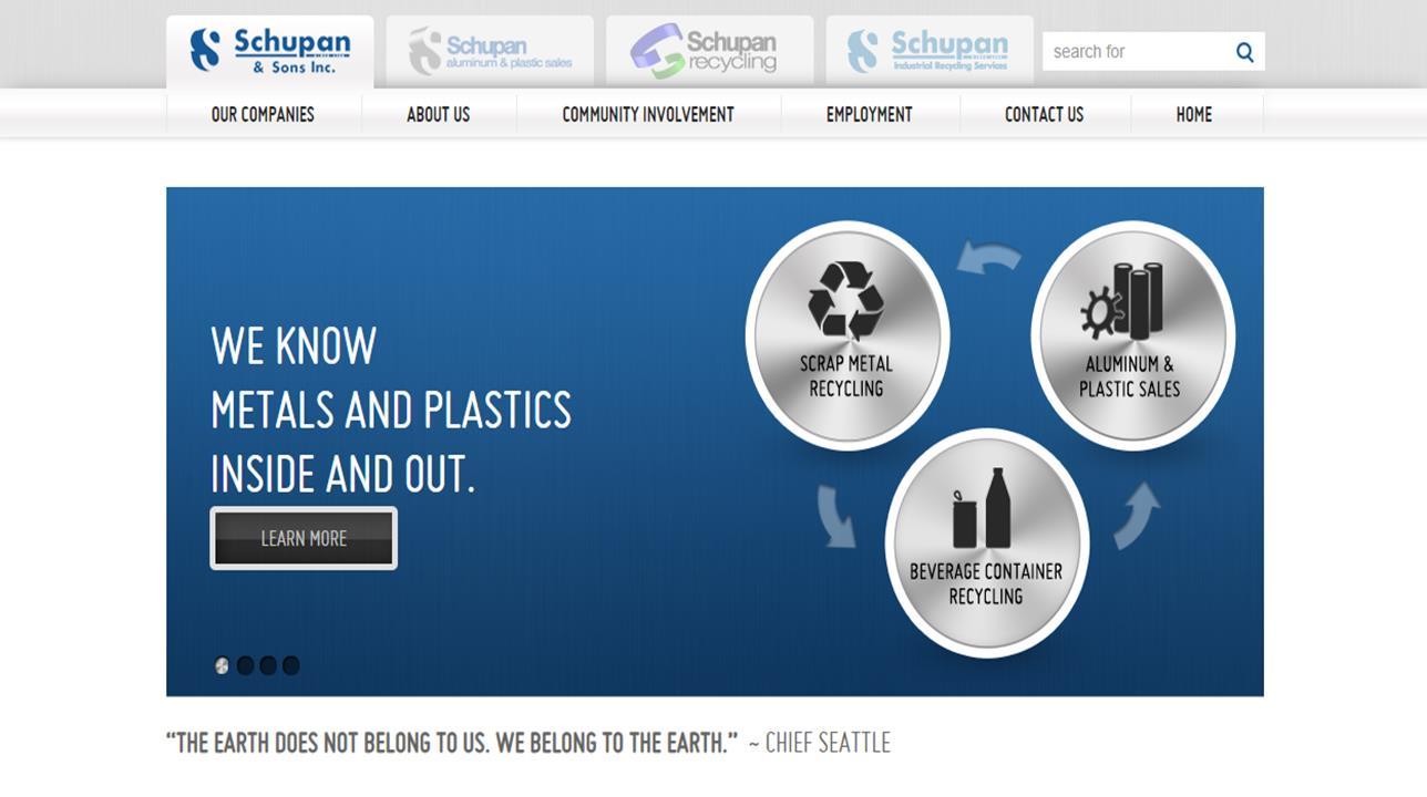 Schupan Aluminum and Plastic Sales