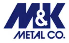 M & K Metal Co. Logo